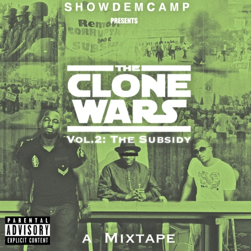 Clone Wars Cover Front